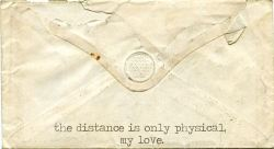 classlovequotes:  #LoveQuotes #valentine The distance is only physical, My Love Facebook: http://on.fb.me/V2PXZu Google+ http://bit.ly/VI0kz4 Twitter: http://bit.ly/V2PWor http://on.fb.me/WGPuxd