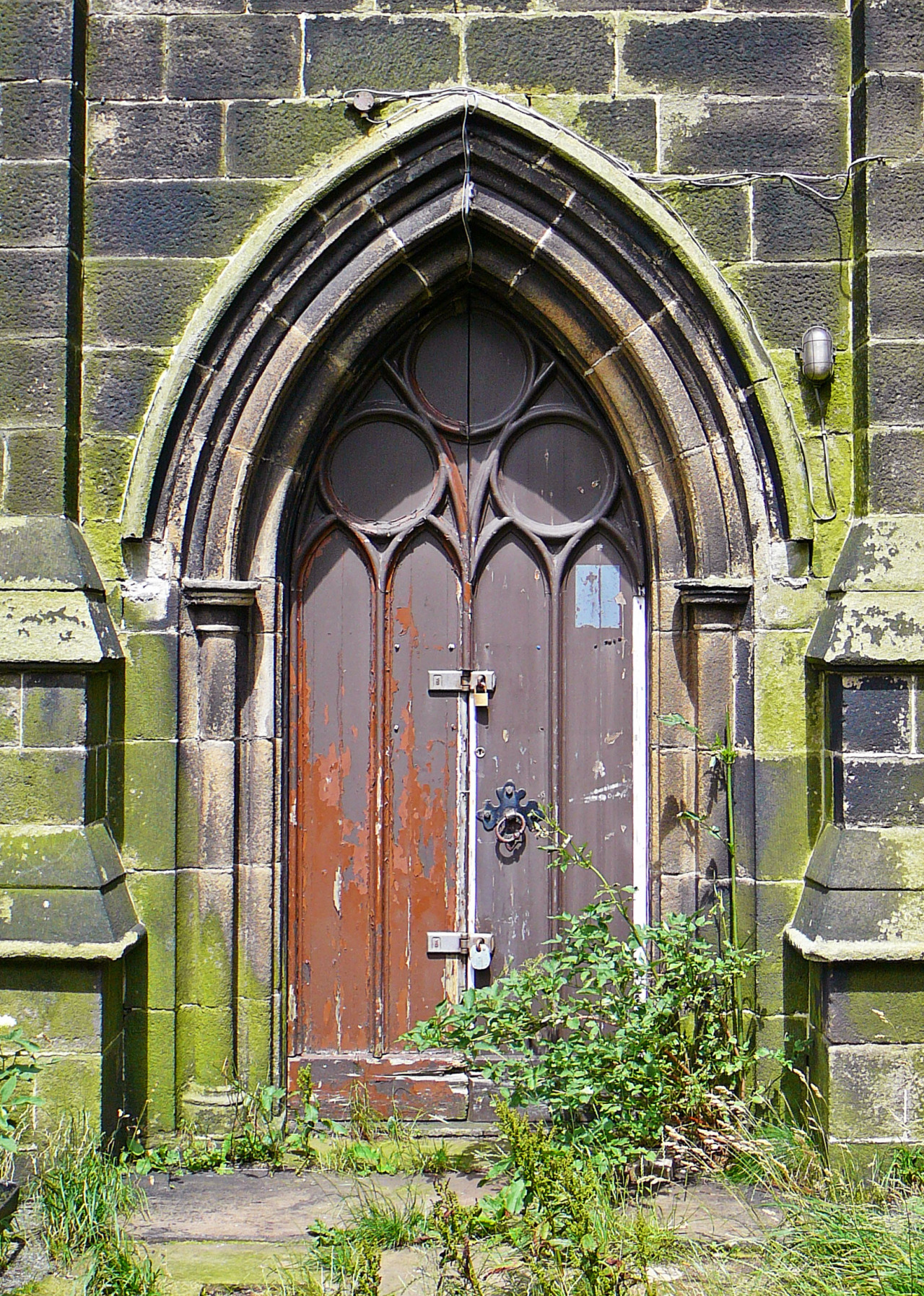 abandonedography:  St Paul's Church - Abandoned, boarded-up, and for sale by Tim Green