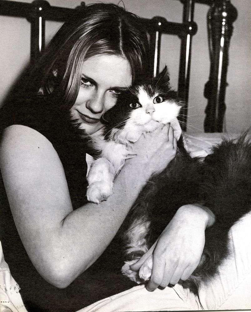 bohemea:  Kirsten Dunst - Interview by Bruce Weber, June 2000