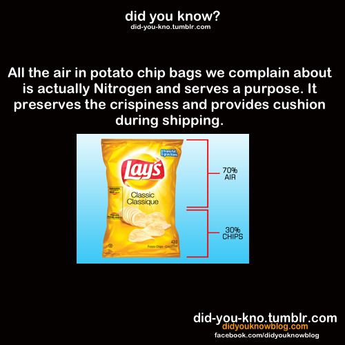 did-you-kno:  Source  If the air is there to guarantee bigger, crispier chips, I'm all for it.