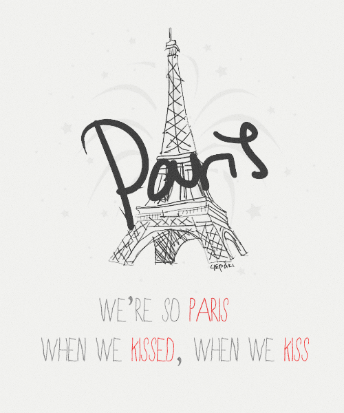 "hlmschpl:  Typography ↳ Nobody Compares - One Direction (Part 2)  ""We're so Paris when we kissed, when we kiss. I remember the taste of your lipstick. Now you're tearing up my heart, tearing up my heartYou're tearing up my heart"""