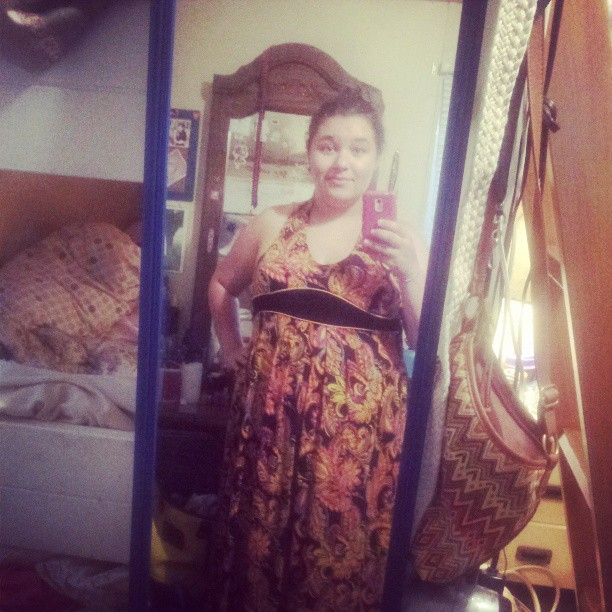 My new maxi dress :)
