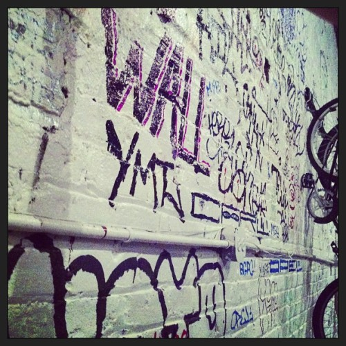 """Tag this wall"" #graffiti #tags #streetart"