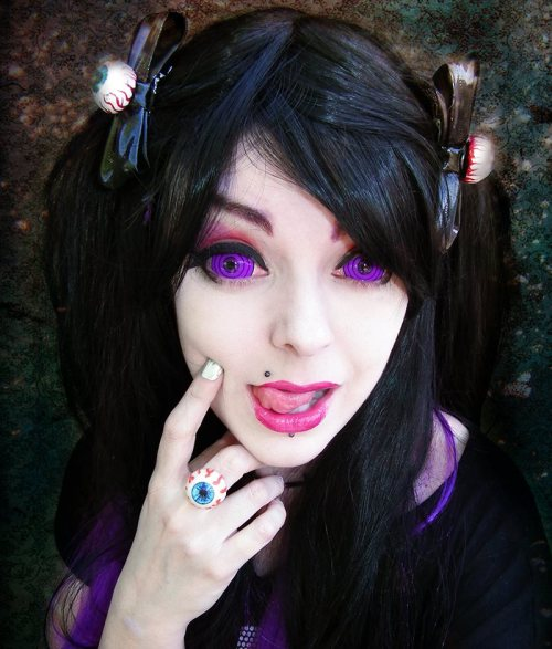 ilovegothgirls:  Your eyes!…. I can't…….. oh……….