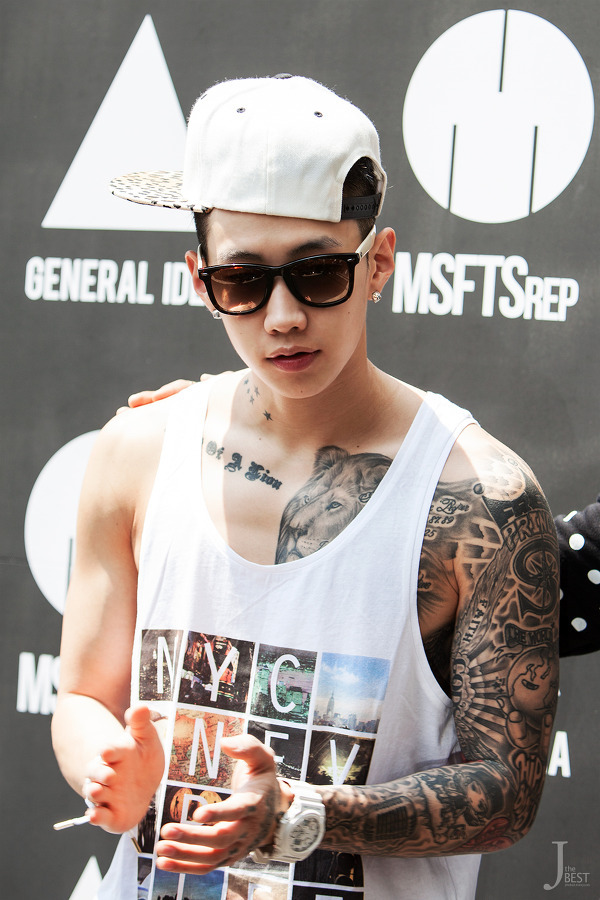 gowithjay:  Jay at the store opening [13.05.08]