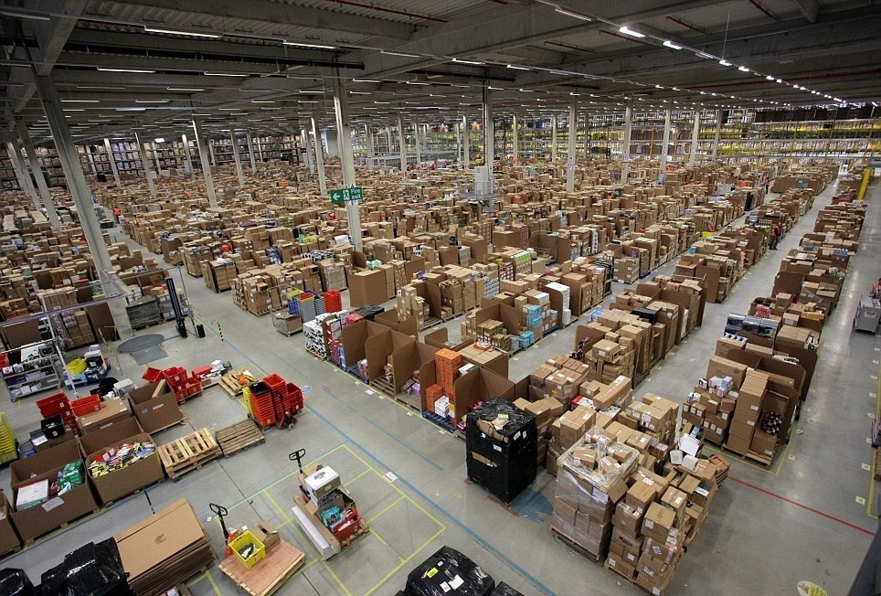 creativehouses:  I heard you guys like warehouses. How about this amazon distribution center?