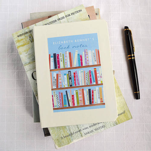 prettybooks:  Personalised Books Notebook