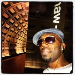 Out n about in DC…. #RockstarLife #DC #ShawHoward #transit