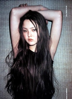 stylejourno:  Devon Aoki, shot by Juergen Teller for Allesandro Dell'Acqua