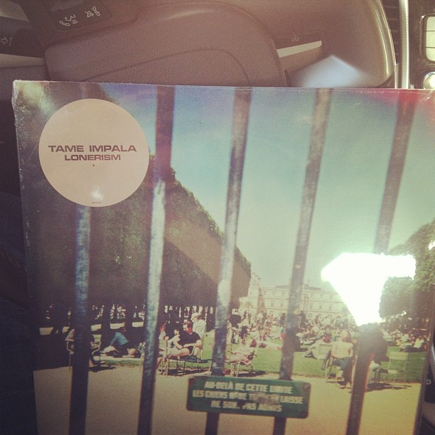 Finally! 😭😂😭😂 #tameimpala #lonerism #vinyl #music #records