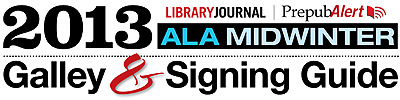 cloudunbound:  ALA Midwinter is not classically thought of as a galley gala (that would be BookExpo America). Thanks to the creative and zany marketing efforts of the Trade Libraries Joint Committee of the Association of American Publishers, however, the conference puts trade book programming front and center. See the AAP's Family Feud, in which librarians face off with marquee writers like Jonathan Evison. As she did for ALA Annual and BookExpo America, Barbara Hoffert, Library Journal's editor of Prepub Alert, has produced a galley guide for ALA Midwinter. Now winter and spring titles, which tend to get overshadowed by summer and fall pubs, have a credible forum, not to mention a receptive audience. Hoffert on the trends she's seeing:   The trade paperback original keeps rising, literate 19th-century American saga is emergent (see Kent Wascom's The Blood of Heaven and Philipp Meyer's The Son), fantastical elements are appearing in nonfantasy works (see Rhonda Riley's The Enchanted Life of Adam Hope and Helene Wecker's The Golem and the Jinni), thrillers are becoming intensely psychological and family-centered (e.g., Kimberly McCreight'sReconstructing Amelia), Africa draws our attention in literature as in the news (see Yejide Kilanko's Daughters Who Walk This Path and Eleanor Morse's White Dog Fell from the Sky), and small-town dysfunction is still with us (see Holly Goddard Jones's Next Time You See Me and Laura Lee Smith's Heart of Palm).    Ditto! Download Barbara's guide!
