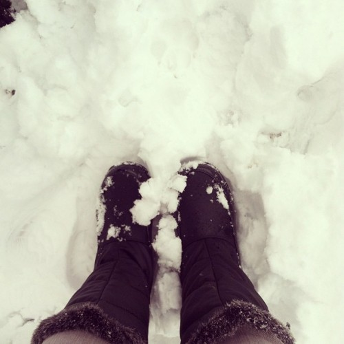 snow in march #fromwhereistand