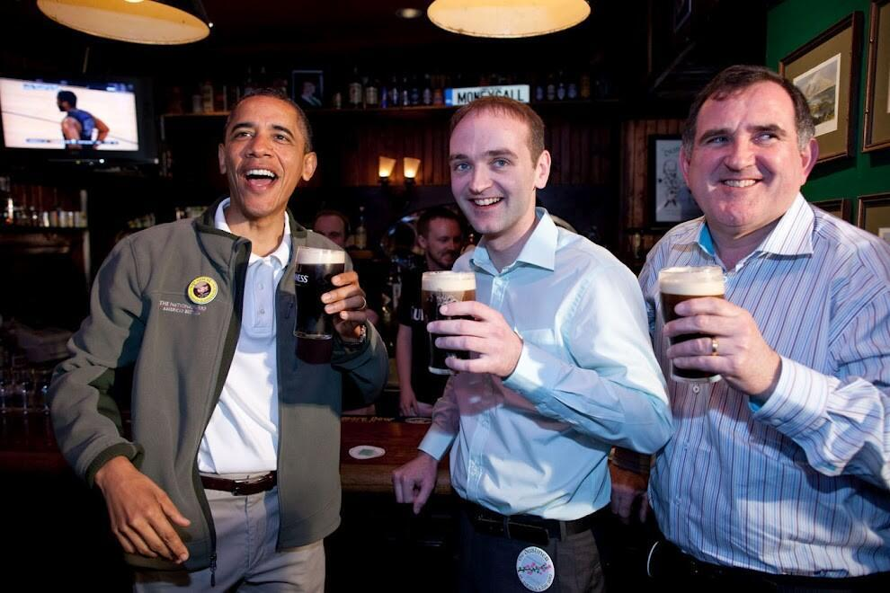 @BarackObama: Happy St. Patrick's Day!