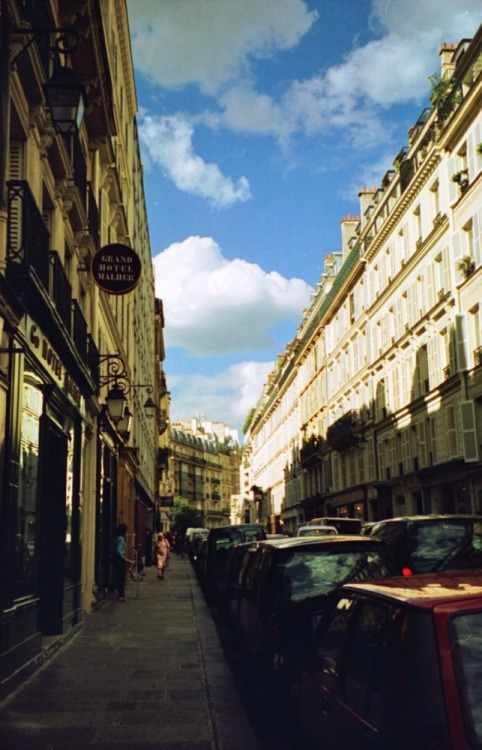 Rue Malher, Le Marais, Paris Shot with a Nikon FM2 and Agfa Ultra 100