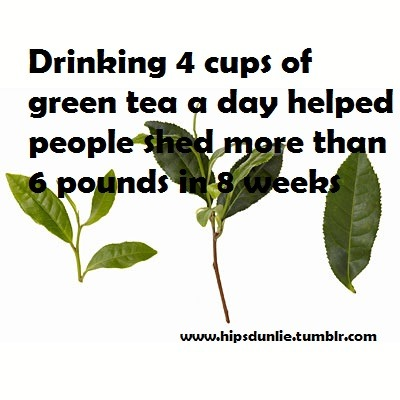 hipsdunlie:  Fat burning food #4 - green tea  Bringing you daily weight loss materials to help you reach your goals! www.hipsdunlie.tumblr.com