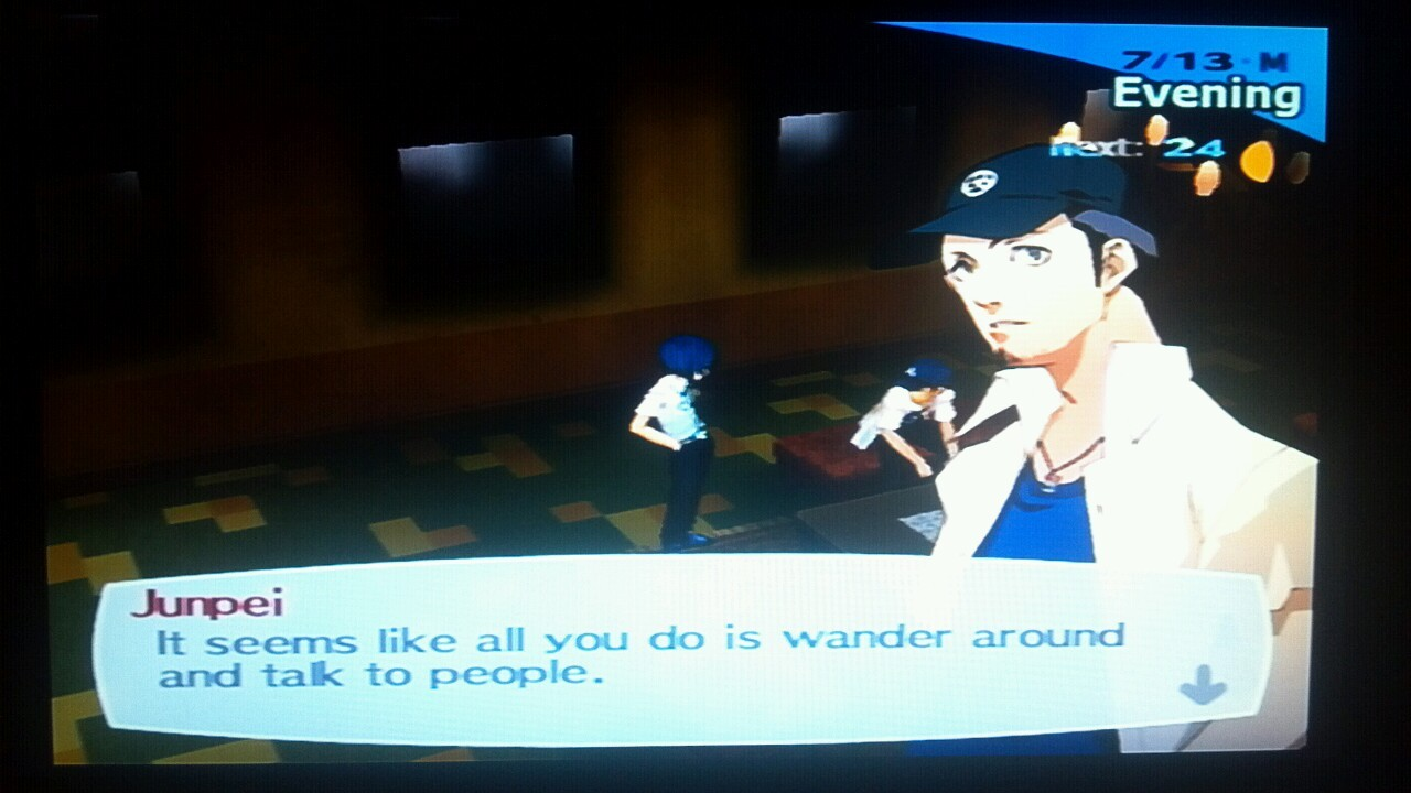 persona3problems:  hectorfabu:  uhhHHHHH  this game is too self aware sometimes