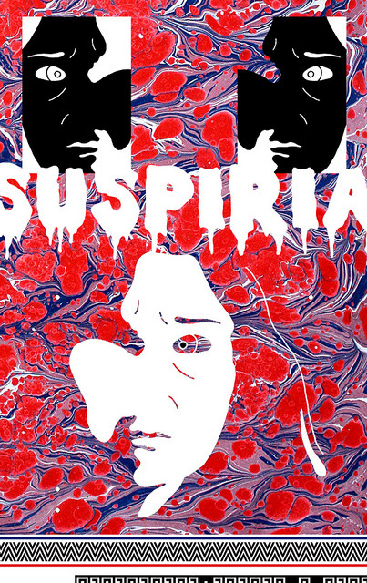 SUSPIRIA on Flickr.FAUX POSTER FOR:www.silverscreensociety.com/ SCARY.