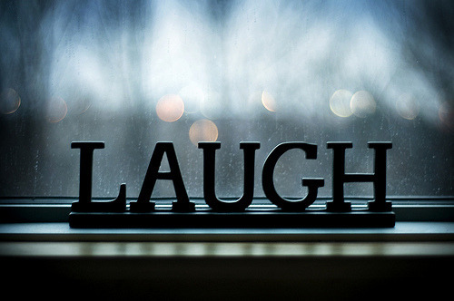 chingyxx:  LAUGH.  on We Heart It - http://weheartit.com/entry/48679957/via/97_ching