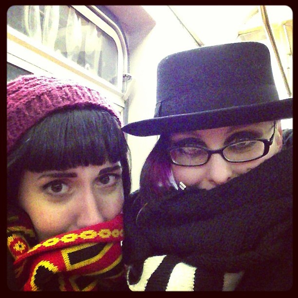Ain't nothing but a G Train. #theshadow #cold #brrr #goinghome (with @soulbots)