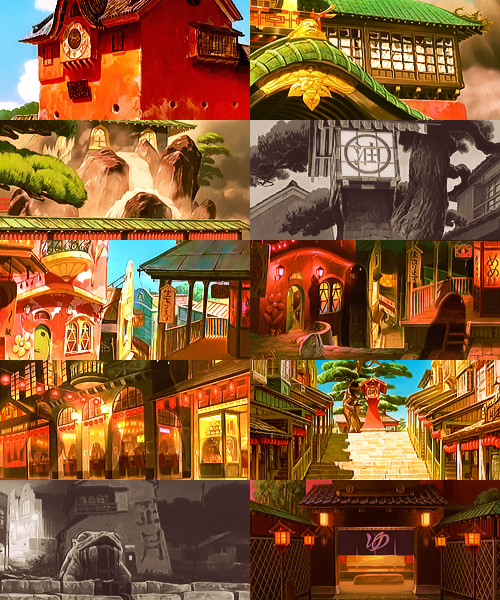 Screencap Meme → Spirited Away + scenerygasm