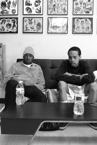 williamolguin:  Tyler the Creator and Earl Sweatshirt by Willliam Olguin