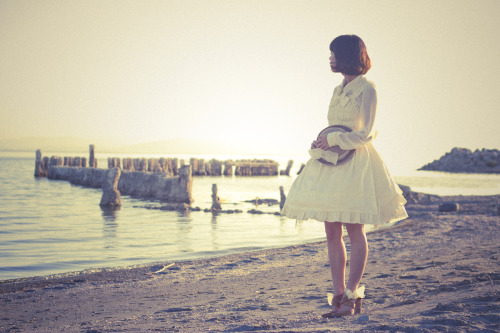 leannecake:  By the sea.