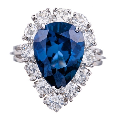 beautyblingjewelry:  Style 4.93Ct Pear Brillian fashion love