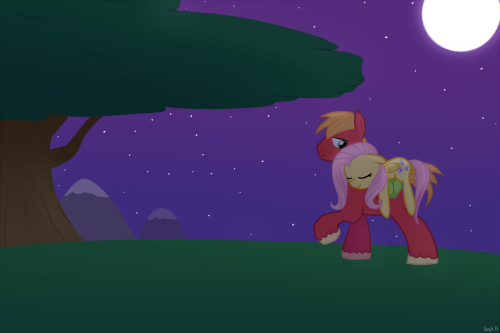 "MLP - ""Gentle Night"" by *Krekka01"