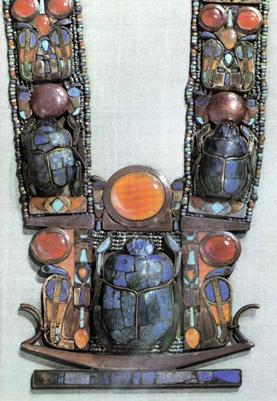 Necklace of Tutankhamun, 18th dynasty, New Kingdom.