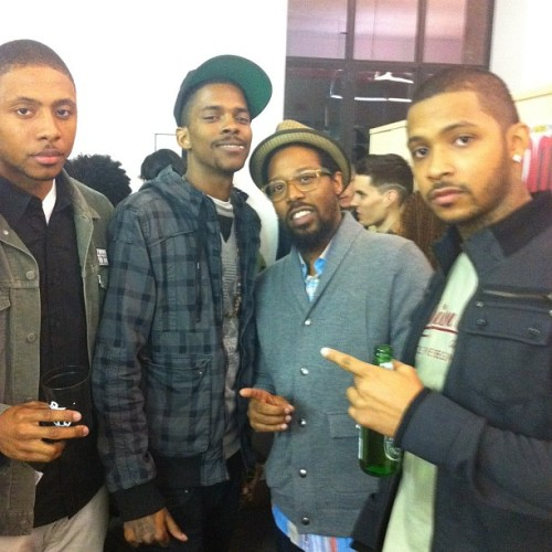 #TBT in New York [at the Complex Magazine Office] w/ @maderich @whoiscoreydavis & @ryanhenrytattoo leaders of the new schools….