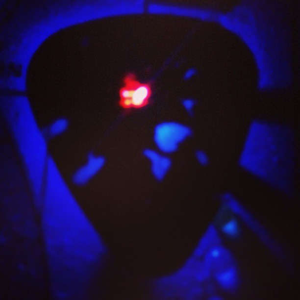 Dont worry. It's jusr a guitar pick. #guitar #pick #night  @home