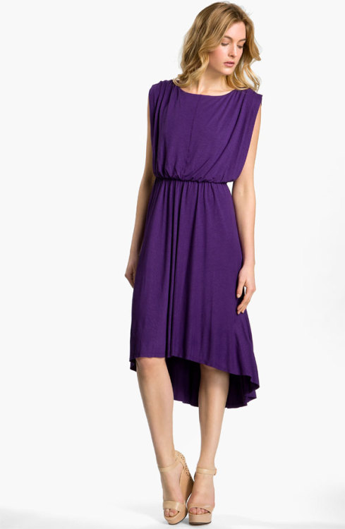 Vince Camuto Blouson Jersey Dress