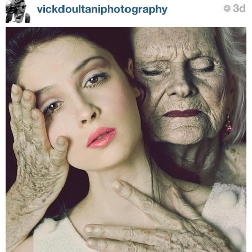 This is such a beautiful image. If you have the time go check it out.  @vickdoultaniphotography #time #beauty #life #reminders #stopandlisten #pain #love #photography #makeup