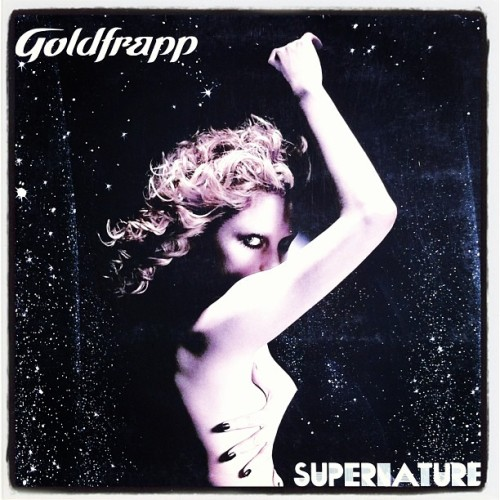After much searching finally got my @goldfrapp #supernature lp. Damn good record and damn good cover