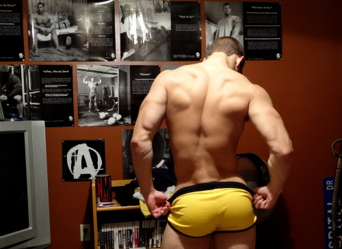 collegewrestler:  That has to be the best ass I've ever seen; squats FTW