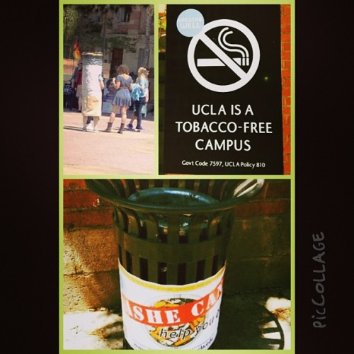 UCLA is officially tobacco free! #HappyEarthDay #BreatheWell #UCLA