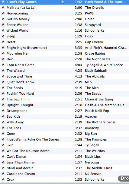 It is almost time to rev it up.   Here is the playlist so far. Show today from 3pm till 6pm central.  That is super soon! Listen.
