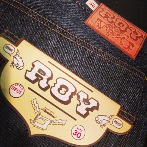Quite possibly the fastest selling Roy jean thus far. (at Self Edge)