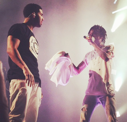 Wiz Khalifa Brings Out Drake in Toronto
