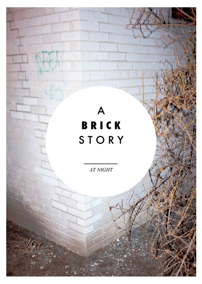 "My second PDF is out, ""At Night"" - ""A BRICK STORY"" You can download it here"