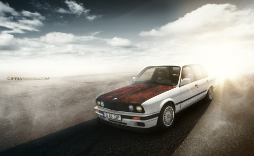 Rusty Starring: BMW E30 (by CiprianMihai)