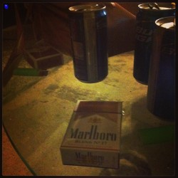 Same #cigarettes, same #beer, same #lighter.  With one of my #besties. <3 @camibugg  #budlight #27s