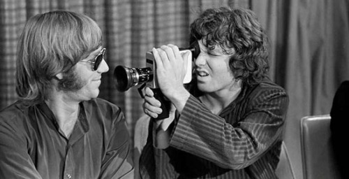 theswinginsixties:  Ray Manzarek and Jim Morrison of The Doors at the Winterland Ballroom, San Francisco, December 1967. RIP Ray Manzarek x