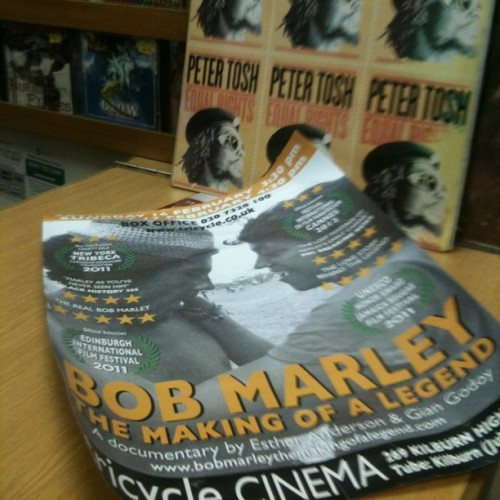 Brixton screening at the Ritzy on 22 April. Www.bobmarleythemakingofalegend.com