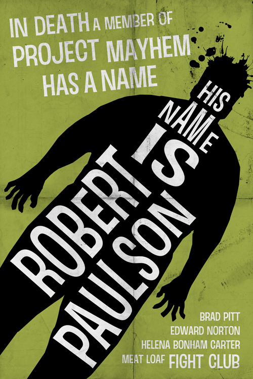 His Name is Rober Paulson