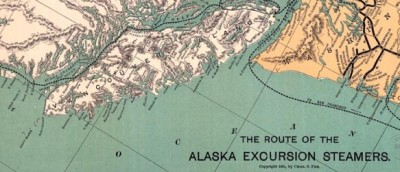 Map of Alaska Excursion Steamer Routes (1891)Charles S. Fee's map of routes of Alaska excursion steamers from 1891.         Map of Alaska…View Postshared via WordPress.com