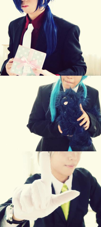 worldcosplay.net/photo/911908/  Preview of today's shoot  Aoba CN Shusuke  Koujaku CN Haruki Clear CN Shino
