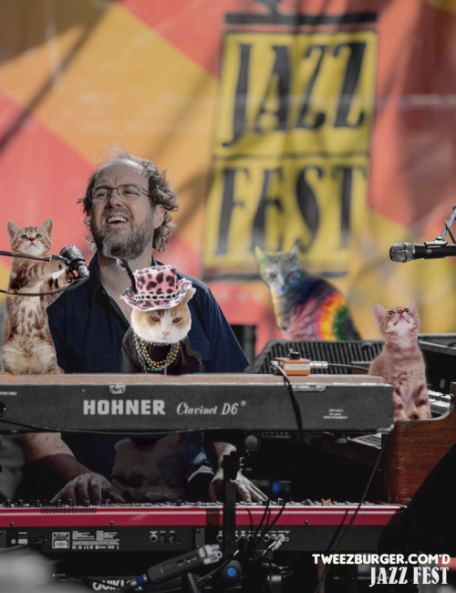 Page and the Jazz Cats @ 2013 NOLA Jazzfest original photo by Douglas Mason