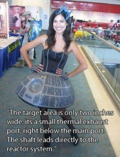 Brb, penetrating the Death Star! For more amazing content like this be sure to GO LIKE US ON FACEBOOK. Follow this blog for endless hours of laughter