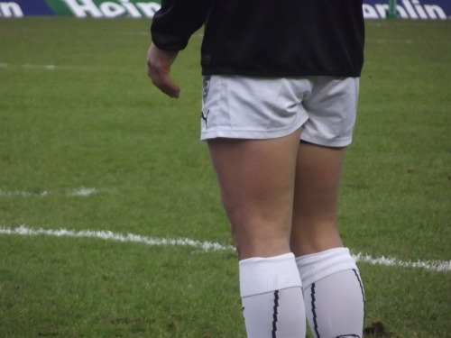 knockmeforsix:  I feel I should apologise, only… I'm not sorry. I am sorry about the quality even though you all know by now that I am a terrible photographer. But yes, Pelissié's tiny shorts and frankly edible arse, as promised.